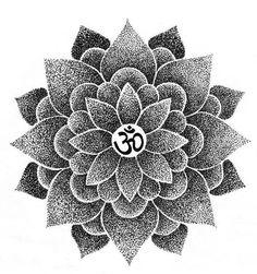lotus tattoo but without the middle part