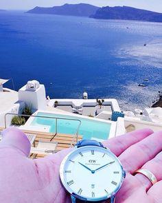 Dapper details in Santorini! (Photo via @danicaspi) #danielwellington by danielwellington - Coming soon to Grace & Co