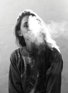 f-crystallize: Amelia Zadro smoke break outtake