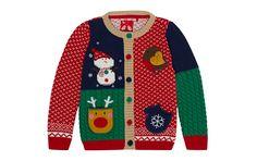 Christmas Patchwork Cardigan  - Childrenswear - Tu Clothing At Sainsbury's