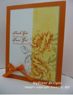 Blossom of Trust by Diane Malcor - Cards and Paper Crafts at Splitcoaststampers