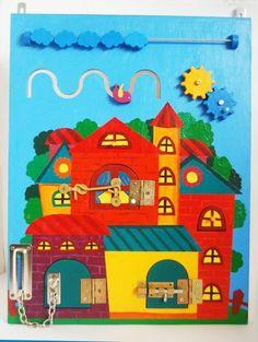 Развивающие доски для детей Busy-board | VK