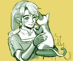 Link being able to pick up animals in twilight princess was my favorite thing