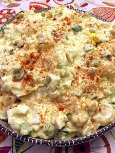 Easy Potato Salad With Eggs – Best Potato Salad Recipe Ever! Easy Potato Salad - didn't have relish so I made my own sauce by blending: 4 pickles, tsp sugar, tbsp mustard, pinch of mustard spice, tsp cinnamon cups mayo. This creates the dressing Best Potato Salad Recipe, Creamy Potato Salad, Potato Salad With Egg, Easy Salad Recipes, Healthy Recipes, Potato Recipes, Dinner Recipes, Cooking Recipes, Best Potatoe Salad