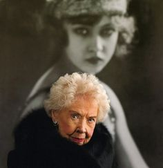 Doris Eaton Travis (March 14, 1904 – May 11, 2010 = 106 years old!)  Photography by Brian Lanker, 2008.  She was 104 years old in this photo!