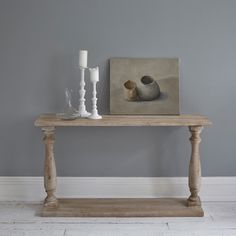 Toscana Console Table Natural