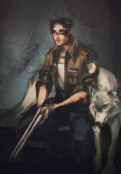 I hated this jerk in the beginning. But when he stopped being a jerk and started being a pretty selfless badass, and friends with a dog, he become my favorite. (Until Dawn)