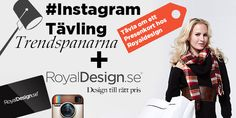 Instagram competition with trendspanarna and royaldesign