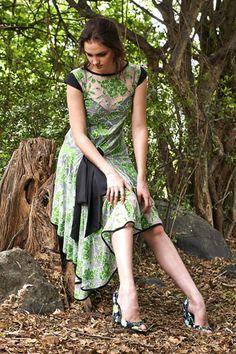 Wrap Flare Dress