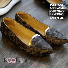 Bom Dia Koquinas! Sentiram falta dos slippers? Olha só a volta grande estilo. Compre Online: www.koquini.com.br #koquini #sapatilhas #euquero #slipper by #zenska