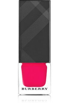 Burberry Beauty Nail Polish - 414 Bright Coral Red | NET-A-PORTER