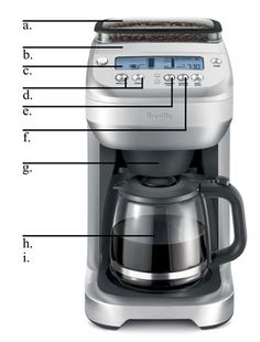 Breville BDC550XL The YouBrew Glass Drip Coffee Maker  http://vacuumcoffeemaker.net/breville-bdc550xl-the-youbrew-glass-drip-coffee-maker/