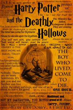 Harry Potter Book Series Quotes (Harry Potter Book #7)