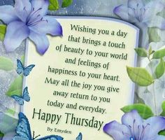 Wishing You Happiness This Thursday
