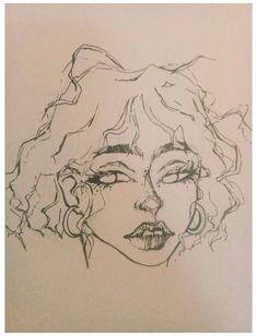 Art Drawings Sketches Simple, Pencil Art Drawings, Cool Drawings, Pretty Art, Cute Art, Arte Grunge, Arte Dope, Art Diary, Arte Sketchbook