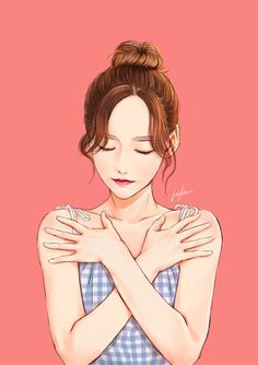 Image in Art ✨ collection by princess on We Heart It Digital Art Girl, Korean Art, Beautiful Anime Girl, Anime Kawaii, Kpop Fanart, Anime Art Girl, Girl Cartoon, Cute Drawings, Character Art