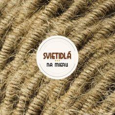 Kábel dvojžilový v podobe retro lana, juta, 2 x 0.75mm, 1 meter (2) Retro, Luster, Ale, Jute, Ale Beer, Retro Illustration, Ales, Beer