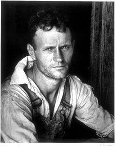 Walker Evans   Walker Evans - Floyd Burroughs, Alabama - Pictify - your social art ...