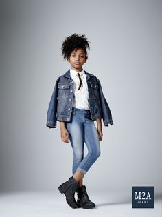 M2A Jeans   Fall Winter 2015   Kids Collection   Outono Inverno 2015   Coleção Infantil   calça jeans infantil feminina; jaqueta jeans; look infantil; denim kids.