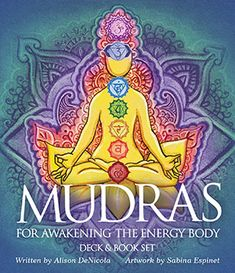 2017 Product of the Year: Mudras for Awakening the Energy Body, Artwork by Sabina Espinet, Written by Alison DeNicola (U.S. Games Systems, Inc)  ISBN# 9781572818026