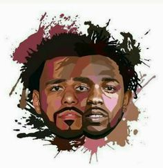 J. Cole and Kendrick Lamar xx