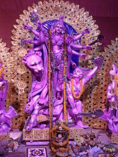 The Divine Mother, slayer of illusion, Kolkata.