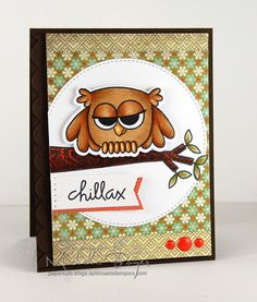 Chillax by Shel9999 - Cards and Paper Crafts at Splitcoaststampers