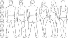 Body Proportions Theory And Practice - Fashion Illustration