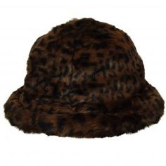 The Faux Fur Casual is a fresh winter version of the iconic Kangol bucket  hat. The crown fabric is stiffened to give the hat its distinctive bell  shape. 26482417791b