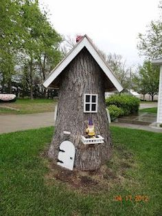 I have to do this to my tree stump......