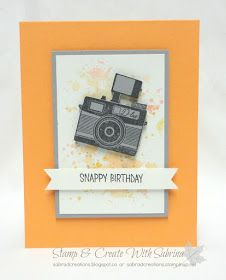 Stamp & Create With Sabrina: Sneak Peek - Pun Intended - Camera - Hostess Stamp Set