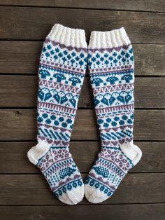 Sadepäivän sukat, malli Niina Laitinen