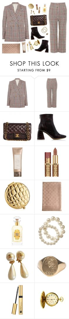 """""""Suit Up"""" by amalieknygberg ❤ liked on Polyvore featuring Étoile Isabel Marant, Chanel, E L L E R Y, Antica Farmacista, Estée Lauder, Louis Vuitton, Houbigant, Old Navy and Burberry"""