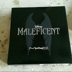 Disney for MAC Maleficent Eye Pallette **Limited Edition**  **No longer available in stores** MAC DISNEY Maleficent  New in box Colors are Goldmine, Brown-Down, Concrete, and Carbon all in limited edition packaging!!! MAC Cosmetics Makeup Eyeshadow