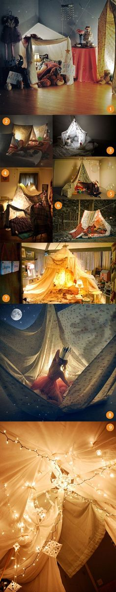 Blanket Forts, I LOVE, let's make one right now... never too old..   # Pinterest++ for iPad # by SeriLynn