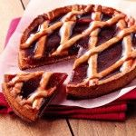 Try this Linz tart from Alsace region. Be sure to follow our recipe for this traditional dessert.
