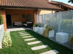 un piccolo giardino privato...ecco il nostro primo progetto ... - Giardino Piccolo Progetto