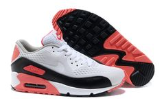reputable site 2834d c6303 2013 Red Black Silver Nike Air Max 90 Premium EM Womens Trainers For  Wholesale