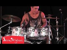 Dylan Elise Mega Drum Solo - YouTube