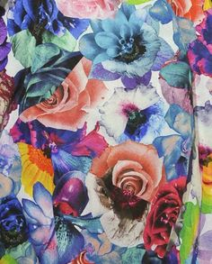 Source: thewakeupcall  #color #flowers #art