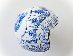 pinterest.com/fra411 #bike #art #helmet