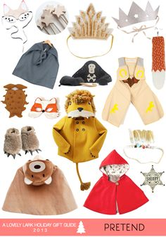Holiday Gift Guide 2013: Pretend