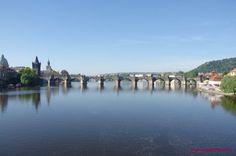 Вид на Карлов мост Bridge, River, Outdoor, Outdoors, Bridge Pattern, Bridges, Outdoor Games, The Great Outdoors, Rivers