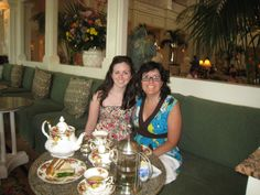 Where can you have your very own tea party?  Thanks to Undercover Tourist we knew where to find one, At the Grand Floridan.
