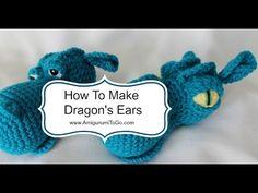 Fire Breathing Dragon pattern by Sharon Ojala Crochet Dragon Pattern, Crochet Hippo, Crochet Dinosaur, Crochet Patterns Amigurumi, Amigurumi Doll, Crochet For Kids, Crochet Toys, Crochet Baby, Dragon Head
