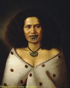 Maori Woman - Raiha Reretu, oil on canvas by Gottfried Lindauer Portraits, Portrait Art, Maori Face Tattoo, Polynesian People, Polynesian Culture, Auckland Art Gallery, Maori People, Maori Designs, New Zealand Art