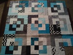 this is a funky twist on the Log cabin :)) follow me at https://www.facebook.com/quiltsbyTaylor