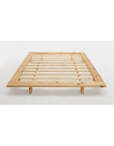 The Japan Futon Bed is available with or without tatami mats.