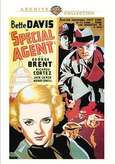 Special Agent - DVD-R (Warner Archive On Demand Region 1) Release Date: June 12, 2015 (Movies Unlimited U.S.)