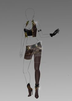 (closed) Auction Adopt - Outfit 295 by CherrysDesigns.deviantart.com on @DeviantArt